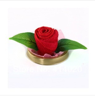 Wedding Decoration Gift Holiday Supplies Rose Flower Valentine's Day , Party Giveaway Decorative Flowers Towel(China (Mainland))