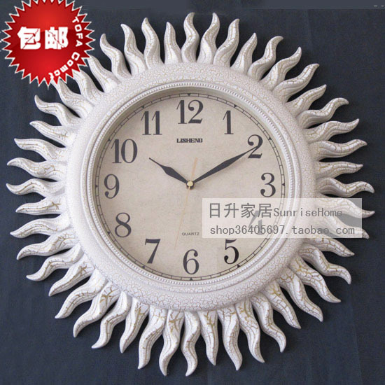 2016 Real Circular Glass & Crystal Quartz Ou Duvar Saati Reloj Fashion Wall Clock Silent Pocket Watch Decoration Home - Doris lighting Co.,Ltd. store