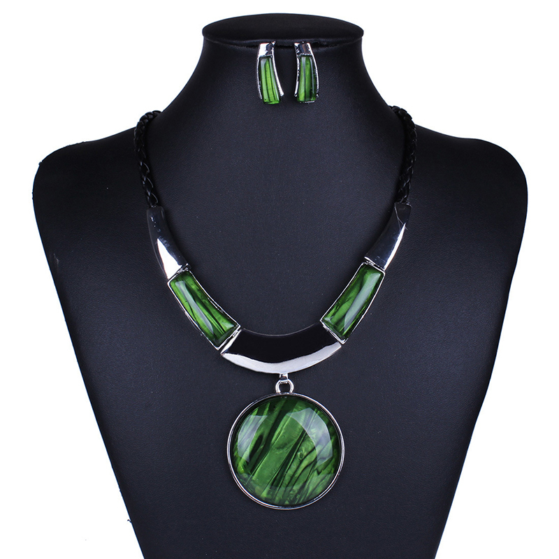 2015 Popular European african jewelry sets,color Plated wedding Women's Earrings Necklace sets - Verynice Jewelry store
