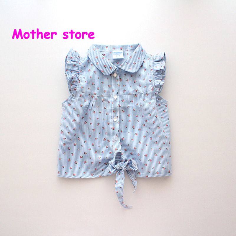 Wholesale 10pcs/lot+2-7Y Baby girl short style tops with frenum lovely kids childrens summer outfit clothing<br><br>Aliexpress