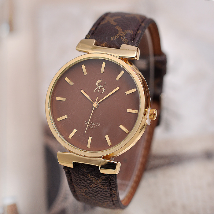 retro watch men leather 3 color option Luxury brand casual business mens watches classic vintage quartz hand clock male quality - Gnomon Industry Co., Ltd store