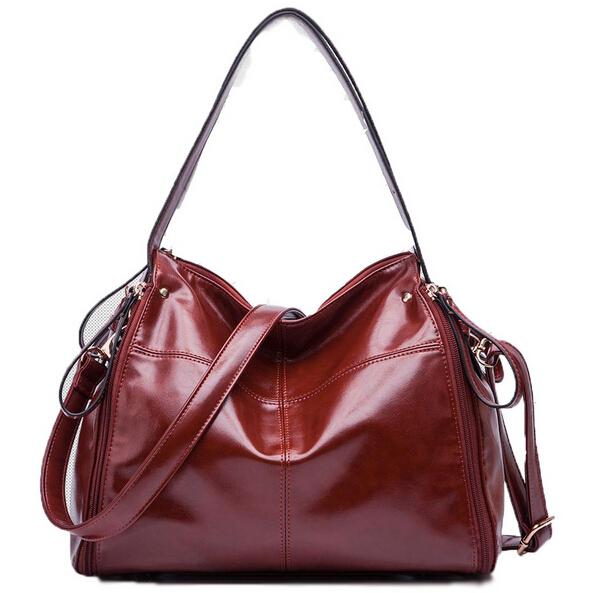 Genuine leather bag ladies 2015 Bags for women shoulder messenger bag women leather handbags designer handbags high quality V6G6(China (Mainland))