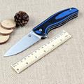 Quality Bear head folding knife D2 blade outdoor tactical knife G10 handle EDC Flipper pocket
