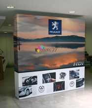Logo backdrop, Fabric Velcro POP up display, Tension POP up banner, Trade Show Booth Display, STRAIGHT POP up backdrop(China (Mainland))