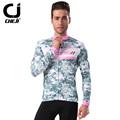 2016 autumn cheji cycling clothing bike clothing cycling wear camouflage grey long suit pro cycling kit