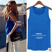 2015 NEW, plus size European style ALL-MATCH elegant cute ladies tank tops, women's  t shirt S/M/L/XL(China (Mainland))