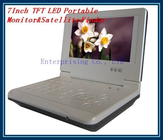 7Inch TFT LED Portable Monitor&Satellite Finder