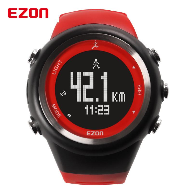 ezon t031 gps calorie counter running sport