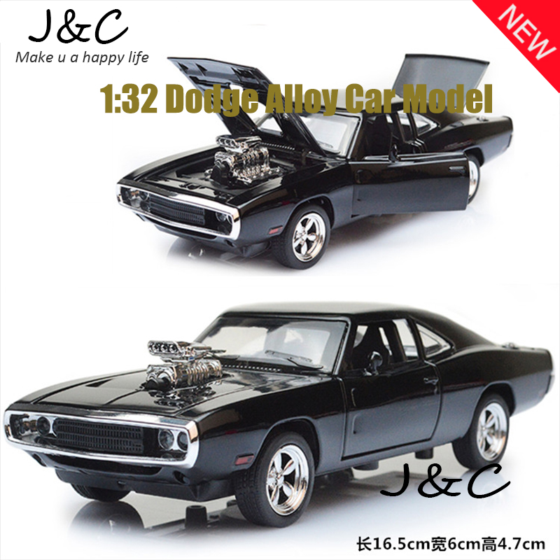New Hot Sell1:32 Scale Dodge Alloy Diecast Car Model Pull Back Toy Cars Electronic Car with light&amp;sound Kids Toys Gifts<br><br>Aliexpress