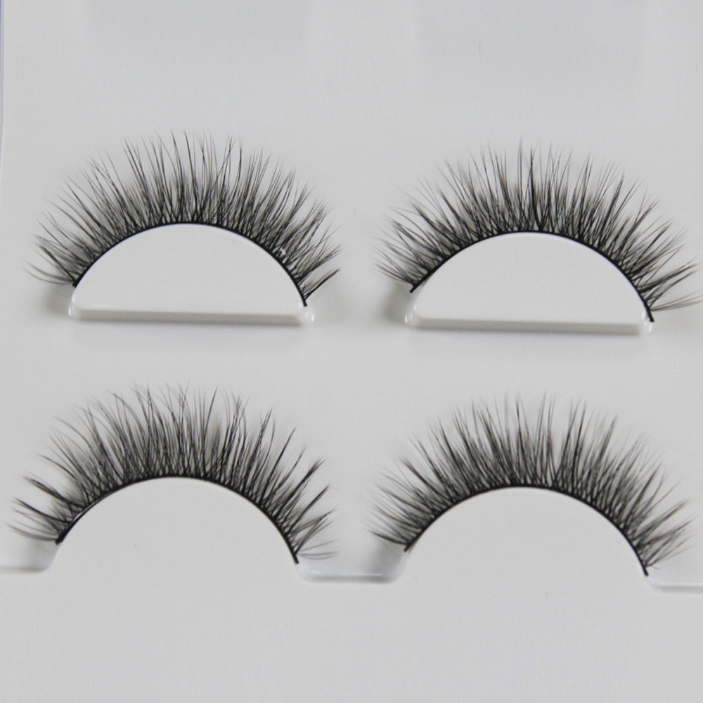 3 Pairs 3D Long False Eyelashes Makeup Natural Fake Thick Black Eye Lashes mink eyelashes natural maquiagem 50* - AliExpress - 11.11_Double 11_Singles Day - 웹