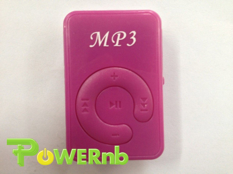 No screen color card plastic case mp3 without screen clip mini USB Mp3 Music Player Micro With 8GB TF SD card Free shipping(China (Mainland))