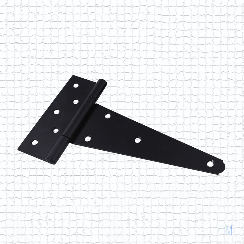4'' Hardware Heavy Wooden Industrial T Hinge Grilled Black Wooden Hinged Doors Hinge(China (Mainland))