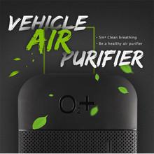 DM2 Grinding Box Smart Cars Vehicle Air Purifier Mini Auto Car Fresh Air Anion Ionic Purifier Oxygen Bar Ozone Ionizer(China (Mainland))