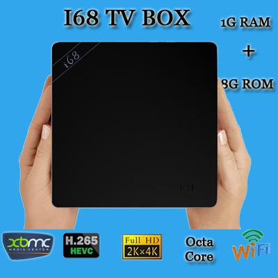 I68 Android tv box RK3368 Octa Core 64Bit Android 5.1 Cortex A53 1GB RAM 8GB ROM Bluetooth 4.0 Dual wifi 2.4G/5.8G kodi Mini PC(China (Mainland))
