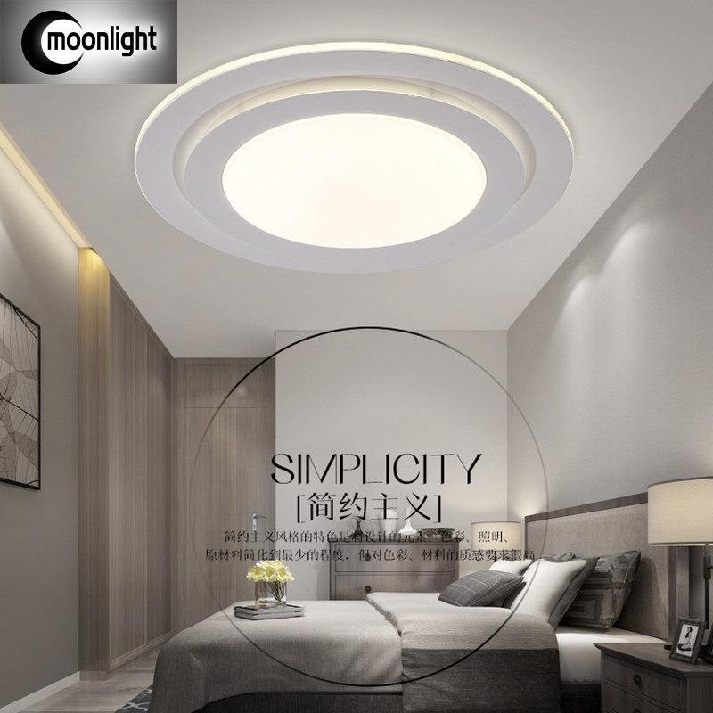 The New Modern Minimalist Living Room Ceiling Light LED