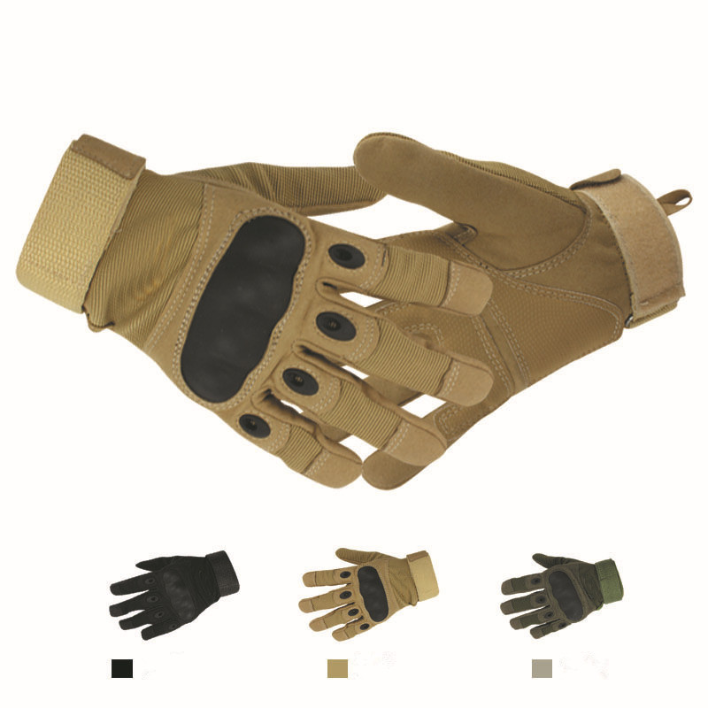 Men Tactical Gloves Shooting Airsoft Knuckle Hunting Used Combat Sports Outdoor Motorcycle/Bicycle/Bike Riding - Tings'store store