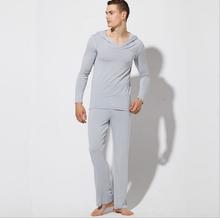 Brand men pajamas fashion robe sets yoga clothing modal mens sexy sleepwear high qualtiy family pajama set free shipping (China (Mainland))