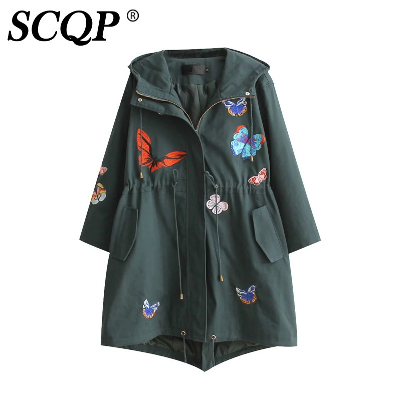 Aliexpress buy scqp cartoon butterfly embroidered