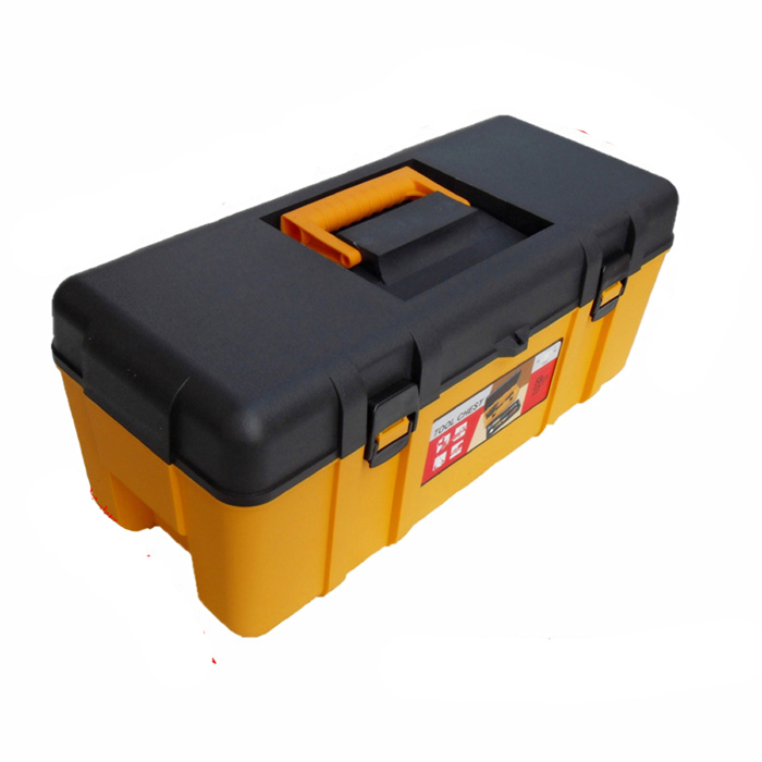 The new 17-inch thick plastic toolbox versatile toolbox durable storage box(China (Mainland))