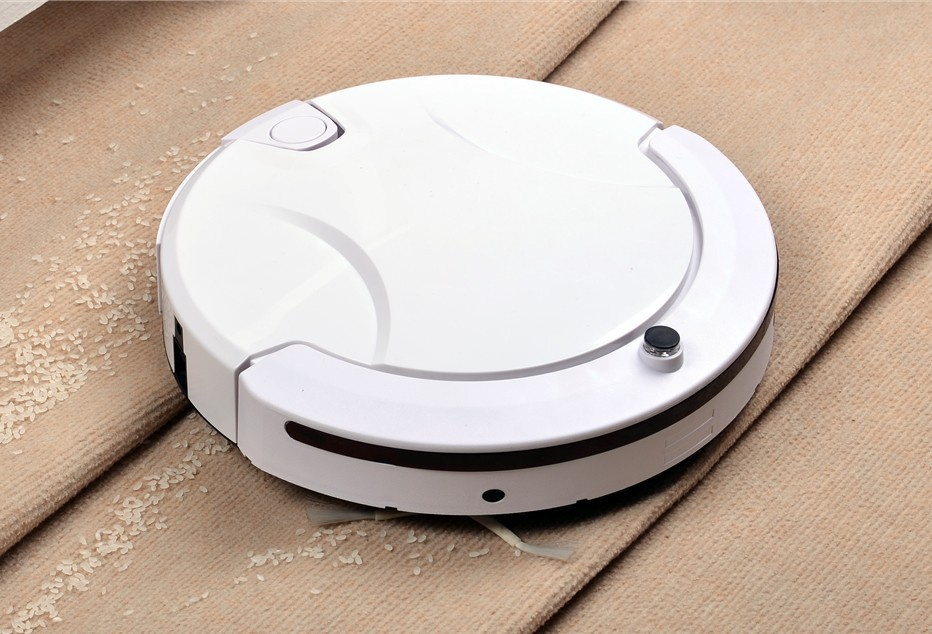 New Automatic intelligent Robot vacuum cleaner sweeping slim rechargeable household cleaning mop sweeper Cordless Vacuum cleaner(China (Mainland))