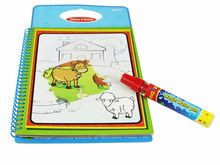 5 pcs  New arrives Magic Kids Water Drawing Board with 1 Magic Pen / Intimate Coloring Board Water Painting Board(China (Mainland))