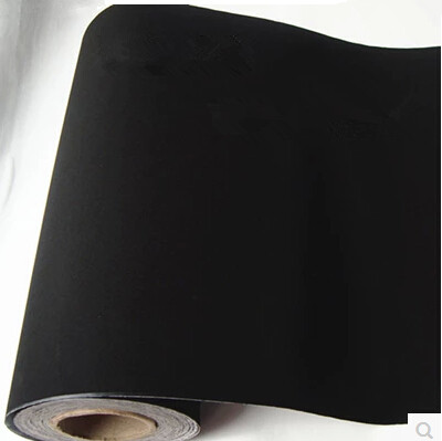 Buy black flannelet wallpaper self - Adhesif vinyl pour meuble ...