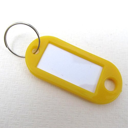 2016 Plastic Keychain Blanks Key Ring Diy Name Tags For Baggage Brand mark Tags Key Chain Accessories free shipping(China (Mainland))