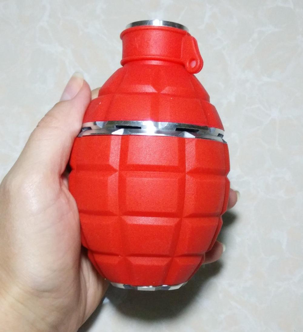 track number 1pc new Grenade silicone+metal hookah coal bowl shisha head Vapor Charcoal Holder kalaud analog - FARPOST store