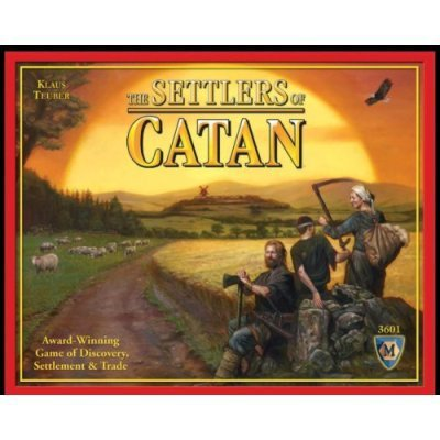 full english version settlers of catan basic + 6 players expansion pack cards game family game for russia brazil(China (Mainland))