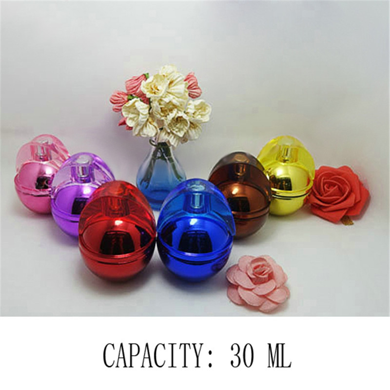Hight Quality Unique Design 30 ML Parfum Bottle Glass Crafts Perfume Atomizers Refill And Spray(China (Mainland))
