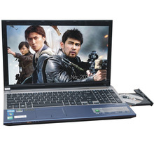 Free shipping EMS 15 6 inch LED laptop celeron 1037U Dual core 1 86Ghz processor 4GB