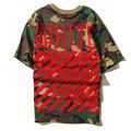men t shirt fashion brand men off white Virgil Abloh kanye west stripe13 pyrex t shirt