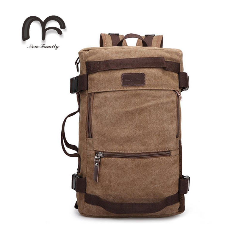 Vintage Large Capacity Canvas Travel Bags Luggage Sport Bag Men Military Duffle Bags For Male Four color big capacity