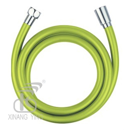 Shallow green silver hose 1.5m PVC Shower Hose With Head thermostable and anti-aging explosion-proof To prevent twisting(China (Mainland))