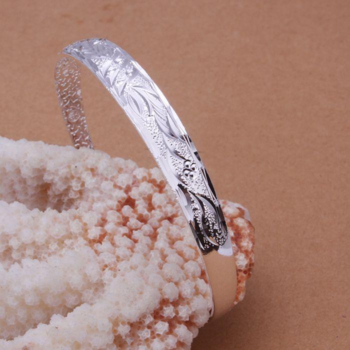Горячая! 925 ювелирных изделий посеребренные браслет, Серебряный мода ювелирных изделий браслет / DQGGKGEJ RQUUGNMC
