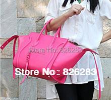 2014 Newest free shipping top Phantom High Quality Leisure brand Smiley Handbag Vntage Bat Single Shoulder Bag