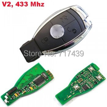 remote transmitter mercedes,Smart Remote control Benz 2000 years (V2,433Mhz,NEC) 3 button,auto remote transmitter
