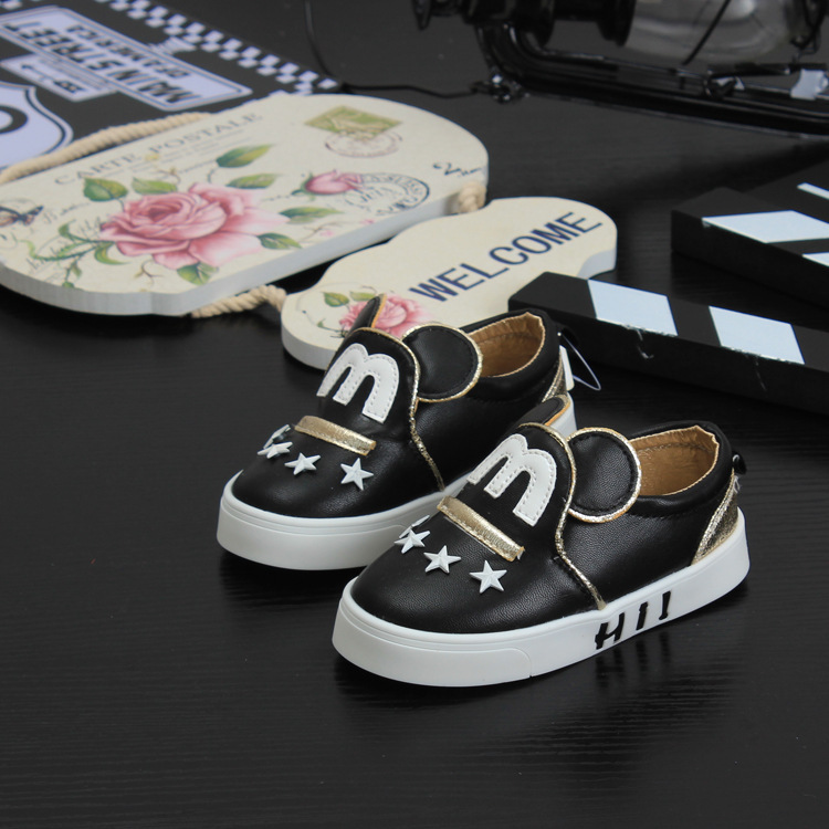 Spring and Summer Children Kids Boys Dress Mary Jane Minnie Oxford School Shoes For Toddler Girl Girls Black Leather Child Shoes(China (Mainland))