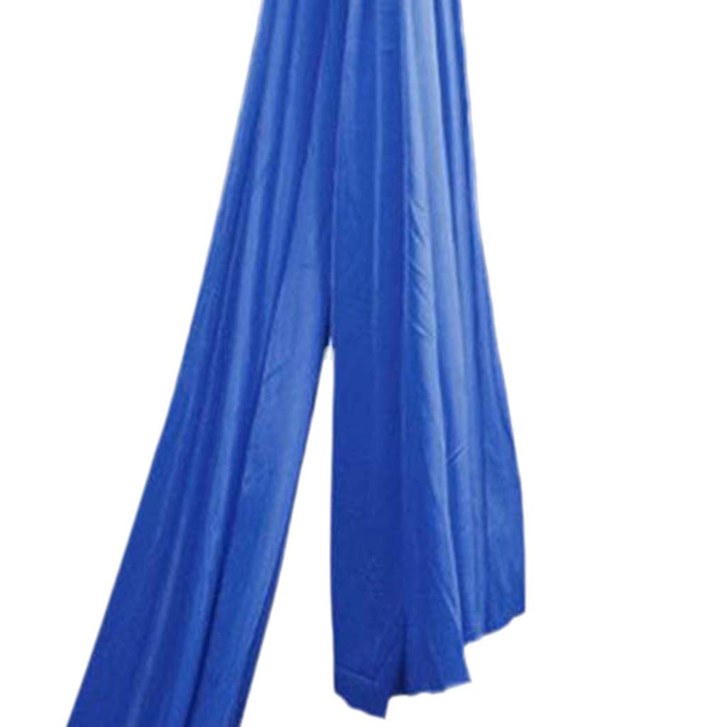 Blue Inversion Anti-Gravity Yoga Hammock Fabric Yoga Flying Swing Hanging Aerial Traction Device for Pilates Sling Body Shaping