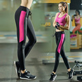 women fitness yoga pants quick drying sports running tights pants Y16060