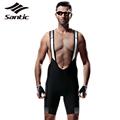 2017 Santic Cycling Shorts Mens Breathable Pro Padded MTB Mountain Road Bike Bicycle Shorts Racing Sportswear