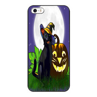 Cartoon Halloween Wallpaper Mobile Phone Case For iPhone4s 5s 5c 6plus 6S