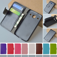 Original J&R Brand Wallet PU Leather Stand Flip Case For Samsung Galaxy Core i8260 i8262 Cover Book style Phone Bag Cases
