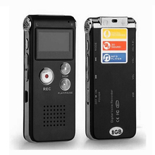8GB 13Hr Digital Audio/Sound/Voice Recorder Rechargeable Dictaphone MP3 Player #88332 (China (Mainland))