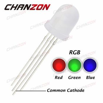 5 Colors x 20pc 5MM Straw Hat LED Light Emitting Diode Light Bulb Assorted Kit