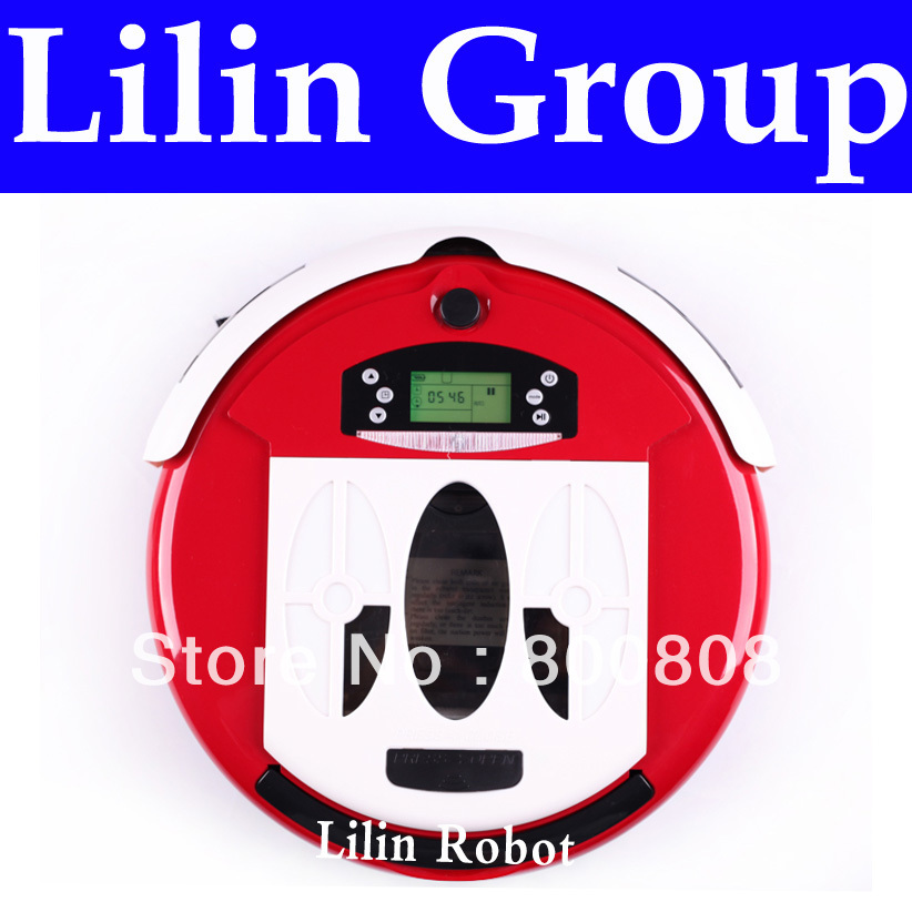 (Free to Russia) Robot Vacuum Cleaner, Multifunctional(Vacuum,Sterilize,Mop,Flavor),Schedule,Self Charge,LCD Screen