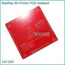 10pcs RepRap 3D Printer PCB Heatbed MK2B Heat Bed Hot Plate For Prusa Mendel 12V 24V
