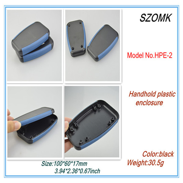 10 pieces a lot, powder coating electronics box 100*60*17mm3.94*2.36*0.67inch handheld enclosure top sales plastic enclosure(China (Mainland))