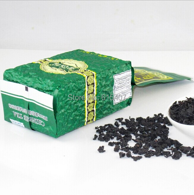 Wholesale 250g promotions in Oil cut black oolong tea chinese oolong tea weight loss tea