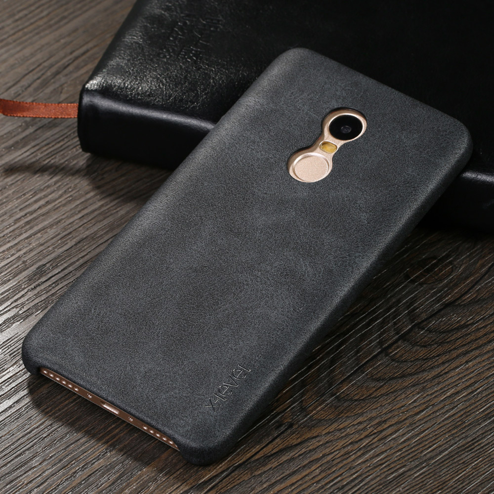 For Xiaomi Note 4 PU Leather Ultra Thin Phone Cases Anti Drop Protection Redmi note 4 Cell Phone Case Vintage Design Cover(China (Mainland))
